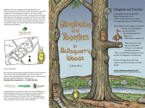 Bellsquarry Leaflet woodland trust glingbobs and tootflits