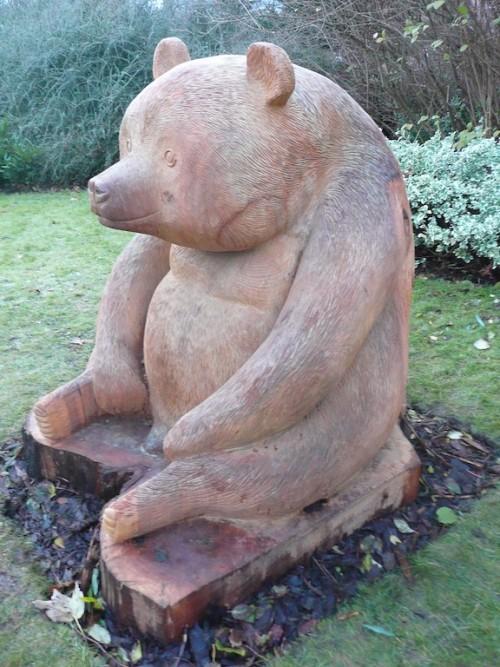 Edinburgh Zoo Panda sculpture commission by Robin Wood