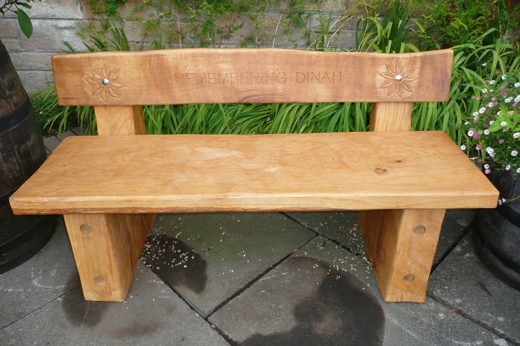 bespoke memorial bench seating wildchild designs
