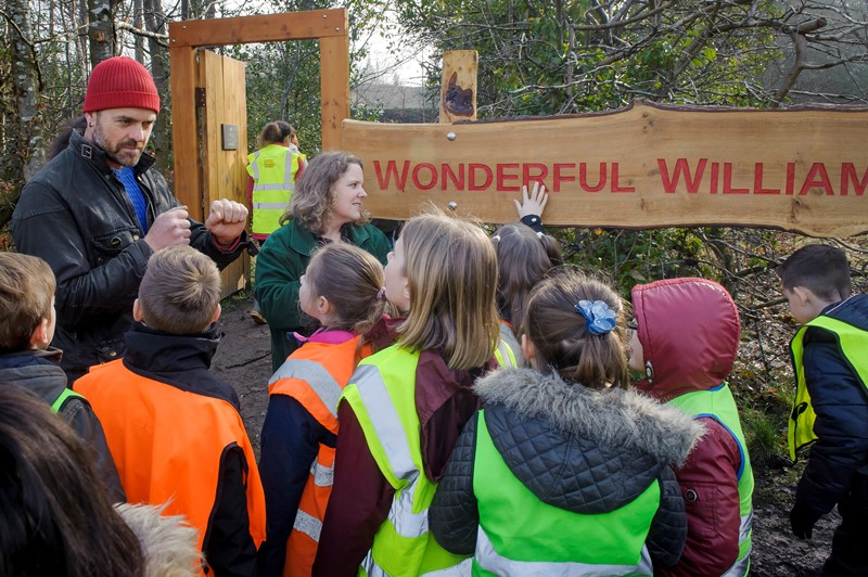 bespoke signage woodland trust wildchild designs