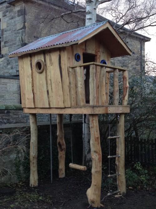 custom hand built childrens wooden tree house wildchild designs