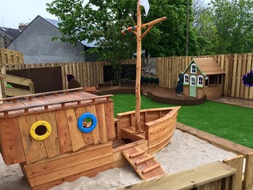 gorebridge childrens pirate ship bespoke wildchild designs