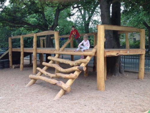 natural wood play park wildchild designs
