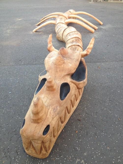 skeleton sculpture childrens play wildchild designs