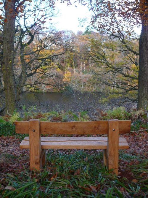 woodland trail custom seating bench wildchild designs