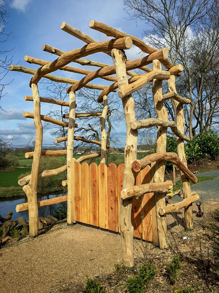 Bespoke outdoor structure by Wildchild Designs