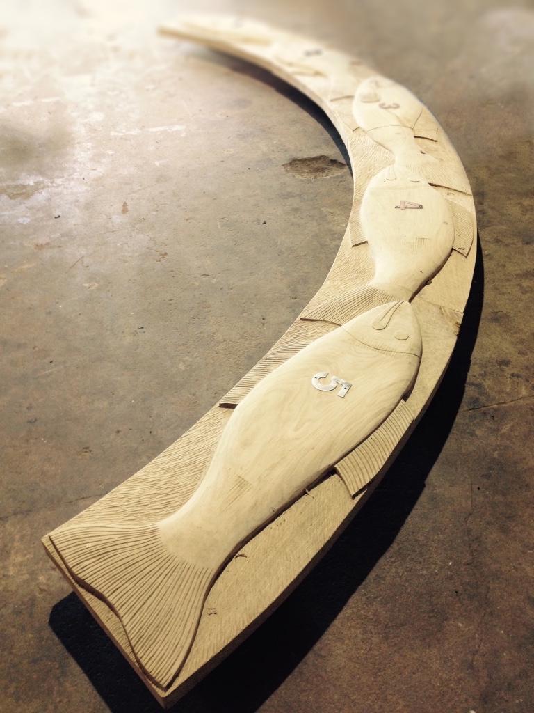 Bespoke seating design by Wildchild Designs